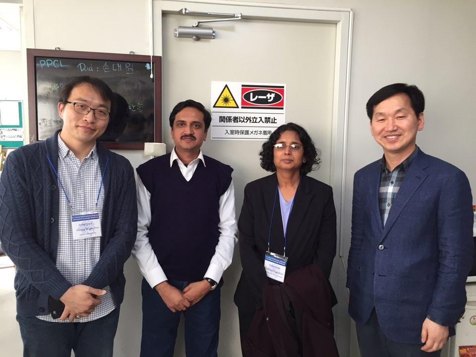 Padma visiting Hanyang Univ